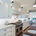 cabinetry, Brookhaven cabinets, kitchen remodel, white kitchen, anna maria island, beach house, butcher block island